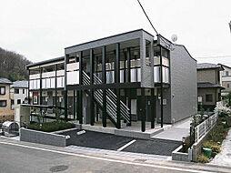 東京都八王子市七国6丁目の賃貸アパートの外観