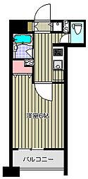 クリオ戸越銀座壱番館[8階]の間取り