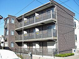 東京都八王子市元本郷町3丁目の賃貸アパートの外観