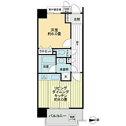 ライオンズマンション白金台[5階]の間取り
