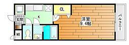 ラフィーネマック[2階]の間取り