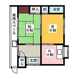 [一戸建] 愛知県清須市新清洲2丁目 の賃貸【愛知県 / 清須市】の間取り