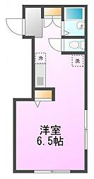 メゾン・ド・ノア東浅川[3階]の間取り