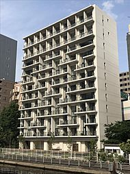 東京都港区海岸2丁目の賃貸マンションの外観