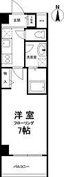 兵庫県神戸市東灘区甲南町1丁目の賃貸マンションの間取り