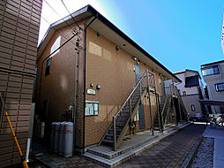埼玉県志木市上宗岡5丁目の賃貸アパートの外観