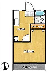 タマイハウス2[K号室]の間取り