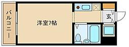 兵庫県尼崎市南塚口町6の賃貸マンションの間取り