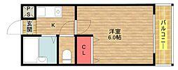Lilac PartII[5階]の間取り