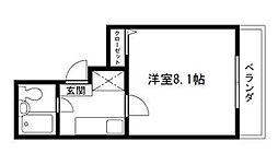Rinon 脇浜[305号室]の間取り