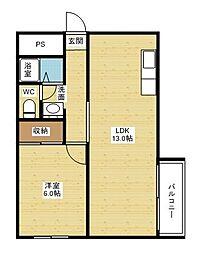第二和田マンション[3階]の間取り