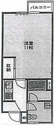 リゾート法泉第一[102号室]の間取り