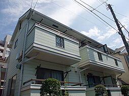 東京都練馬区旭丘の賃貸アパートの外観