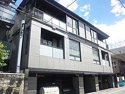 京都府京都市中京区橋本町の賃貸マンションの外観