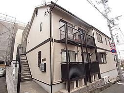 兵庫県神戸市灘区神前町1丁目の賃貸アパートの外観