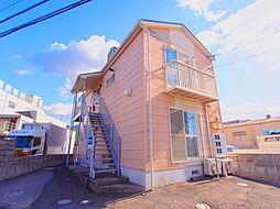 広島県安芸郡海田町昭和中町の賃貸アパートの外観