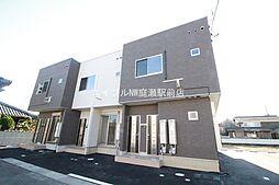 岡山県倉敷市上東の賃貸アパートの外観