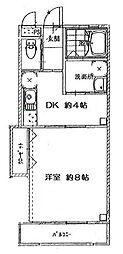神奈川県川崎市川崎区藤崎2丁目の賃貸マンションの間取り
