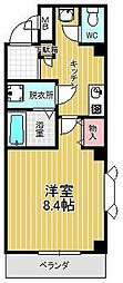 第三福谷ビル[201号室]の間取り