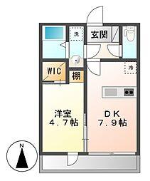 ファミリーステージ八田[2階]の間取り