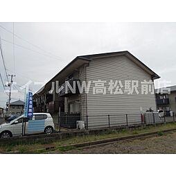 香川県高松市小村町の賃貸アパートの外観