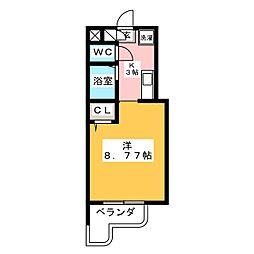 マンション日吉昭和[5階]の間取り