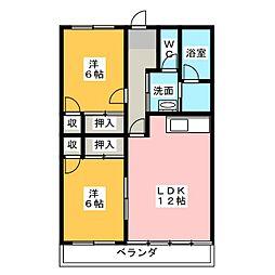 長谷川ビル[5階]の間取り
