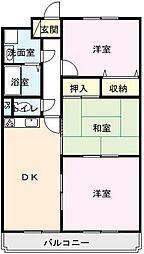 佐賀県唐津市和多田本村の賃貸アパートの間取り