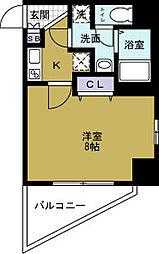 プロシード大阪WESTアドリア[5階]の間取り
