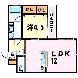 ルーラルソフィアTM[4階]の間取り