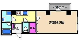 兵庫県神戸市東灘区深江本町2丁目の賃貸マンションの間取り