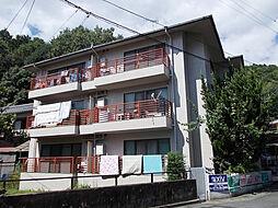 京都府京都市山科区御陵平林町の賃貸マンションの外観