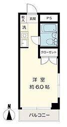 ナガヤ化学ビル[7階]の間取り
