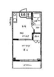 トモエビル[5階]の間取り