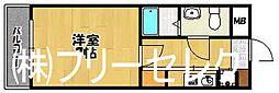 アルティ博多駅南[2階]の間取り
