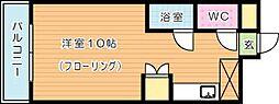 PLEAST千代ヶ崎(プレスト千代ヶ崎)[2階]の間取り