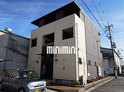 静岡県静岡市清水区西大曲町の賃貸アパートの外観