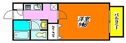 フラワー・ロード 102号室[1階]の間取り