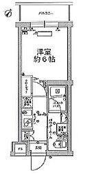 スカイコートパレス大田鵜の木 bt[407kk号室]の間取り