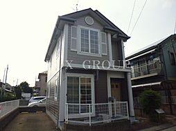 東京都武蔵村山市伊奈平5丁目の賃貸アパートの外観