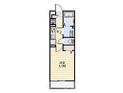 リブリ・セレッサ2[1階]の間取り