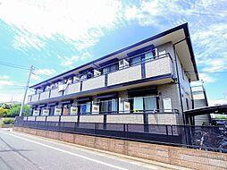 東京都練馬区中村3丁目の賃貸アパートの外観