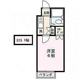 ベルトピア熊谷9[101号室]の間取り
