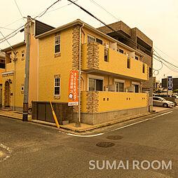 福岡県福岡市西区姪の浜6丁目の賃貸アパートの外観