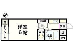 金沢ドーム5号館[307号室]の間取り