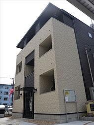 広島県東広島市西条上市町の賃貸アパートの外観