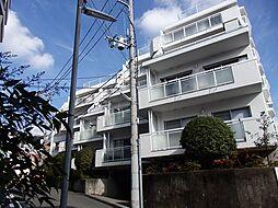 兵庫県神戸市中央区中山手通6丁目の賃貸マンションの外観