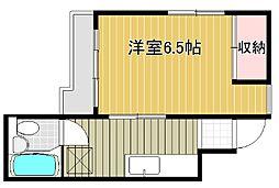 新潟県新潟市中央区天神1丁目の賃貸マンションの間取り