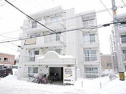 レジデンス白石D[4階]の外観