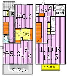 グランドファルコン[2階]の間取り